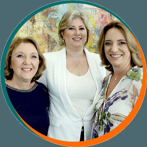 Magali Ortolan, Débora D'Ávila e Laura Fracasso